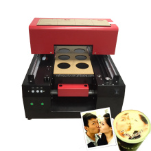 Different photos printed printer top cup logo coffee printer