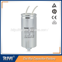 Hot selling air conditioner lighting capacitors , electrolytic capacitor