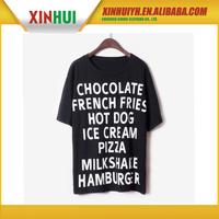 Wholesale in china kids led sound activated t-shirts , t shirt printing , blank t shirt