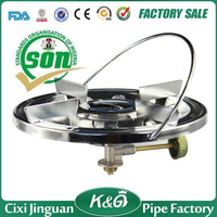 2015 best-selling in Africa outdoor picnic gas burner portable unfolding outdoor camping gas stove with piezo ignition lighter