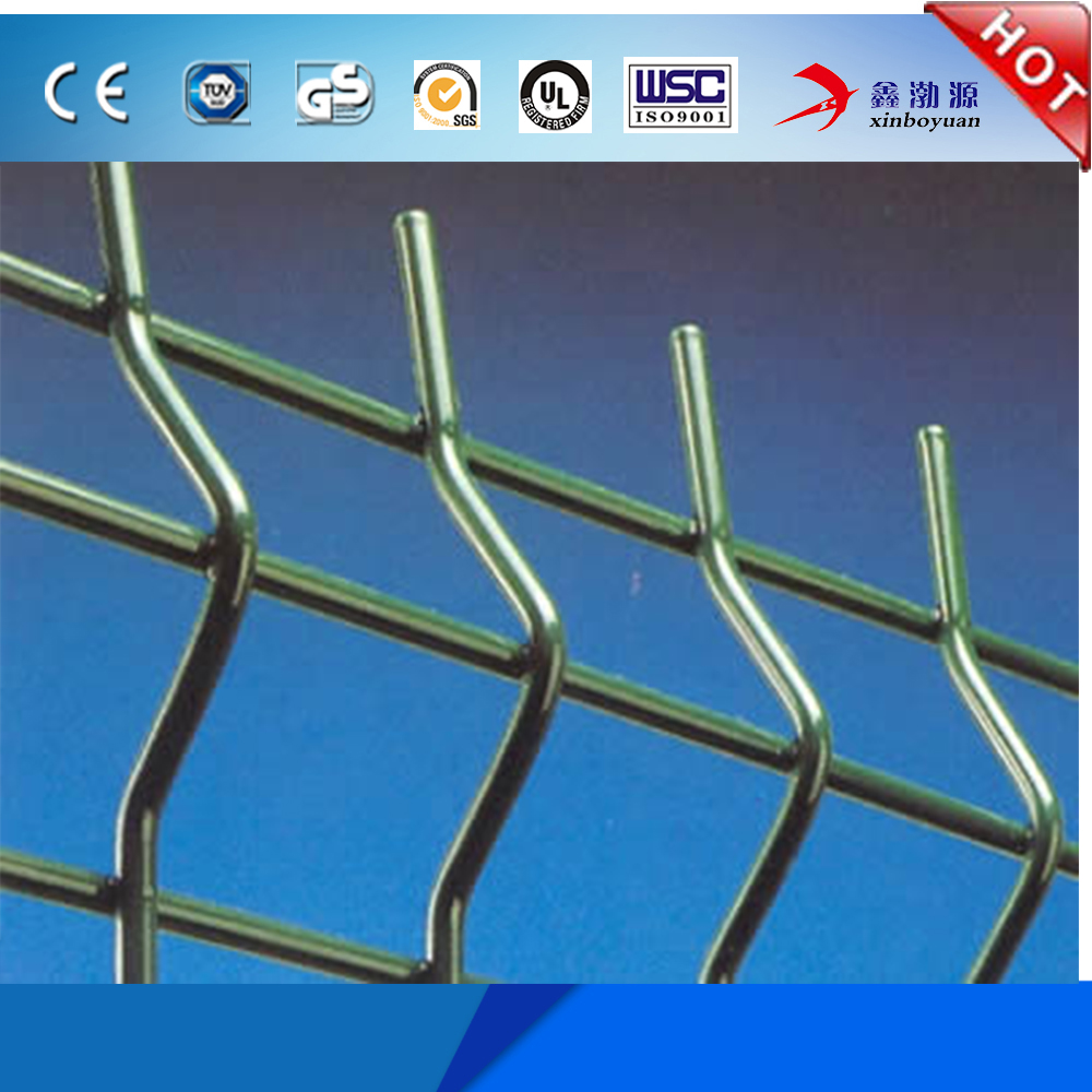 2017 new products cheap price high quality customized used wrought iron garden fencing/ welded wire mesh fence for hot sale
