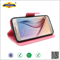 2016 new flip case stand wallet phone cover PU leather case for Samsung galaxy s7, for samsung galaxy s7-----laudtec