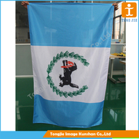 Indoor advertising fabric banner printing hanging fabric with dye sublimation