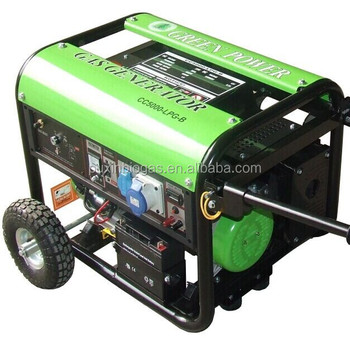 Hot selling CE certified biogas generator 3KW