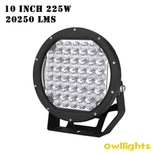 High power!Best selling in Australia!ARB style 225w led head light round 4x4 led spot work light 10 inch 225W led driving light