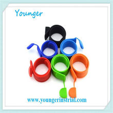 Younger Silicone bracelet usb flash drive colorful promotional gift corporate usb