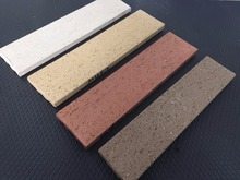 Thin veneer clay brick with different brick sizes for exterior wall decoration
