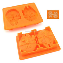 amazon hot selling products food grade non stick microwave oven freezer safe 6 pcs lego starwars silicone tray