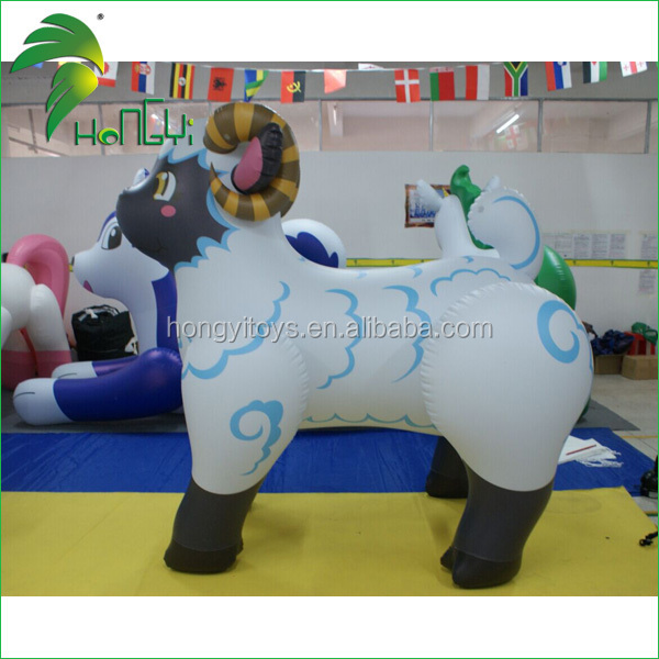 High Quality Most Popular Funny Fat Inflatable Cartoon Sheep