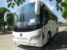 new CNG passenger bus with luxury vip bus seat SLK6872A6N