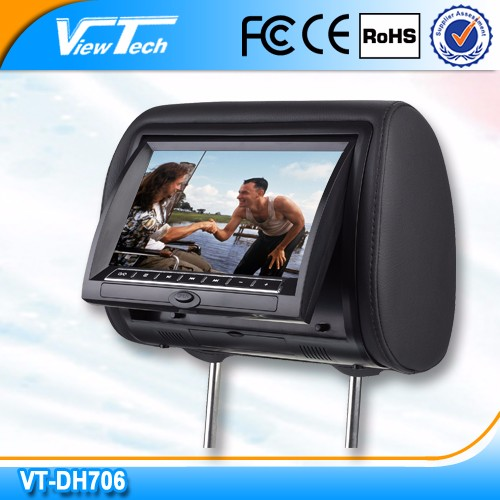 7inch headrest car dvd universal type for all cars