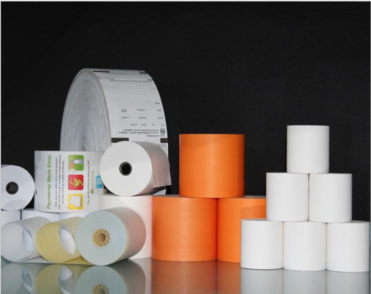 receipt roll customized pre-printed for POS printing thermal paper rolls custom printed cinema ticket roll