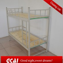 High loading capacity metal design cheap bunk bed with trundle