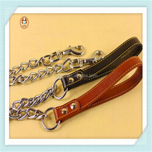 Handle cheap outdoor wholesale pet metal dog chain
