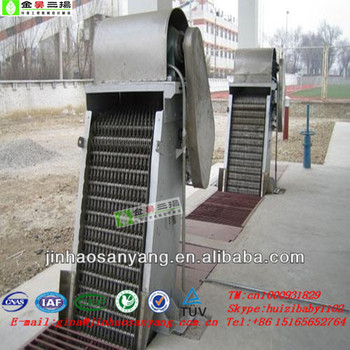 XHG type mechanical bar screen machine for sewage solid liquid separation