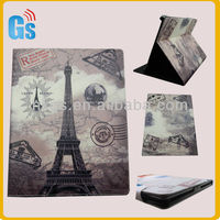 Eiffel Tower Leather Sleeve!Hot Leather Sleeve For Ipad,Tablet PC Skins Leather Sleeve