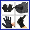 2016 Protect Stainless Steel Wire Safety Breathable 100% Cut Resistant Fiber OEM Knife Proof Gloves