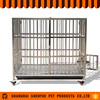New products foldable movable Pet Stainless steel dog cage
