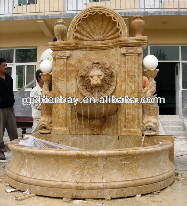 Garden Lion Head Fountain, Garden Lion Head Fountain Suppliers And  Manufacturers At Alibaba.com