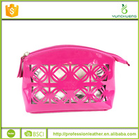 Patent PU cosmetic makeup pouch storage bag with great price