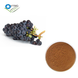 100% pure and nature Grape Skin Extract Resveratrol powder 5% grape seed extract 95% OPC