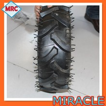 "13"" pneumatic tire /agricultural trolley tire /natural rubber tire 5.00-6"