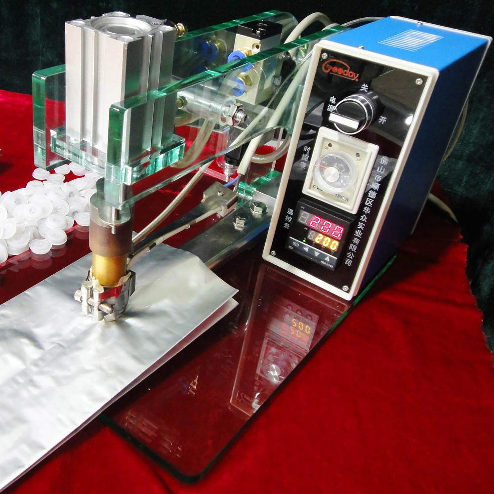 semi-automatic valve applicator for coffee bag