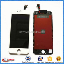 wholesale hot sale assembly for iphone 6 cell phone lcd screen , touch mobile phone display screen