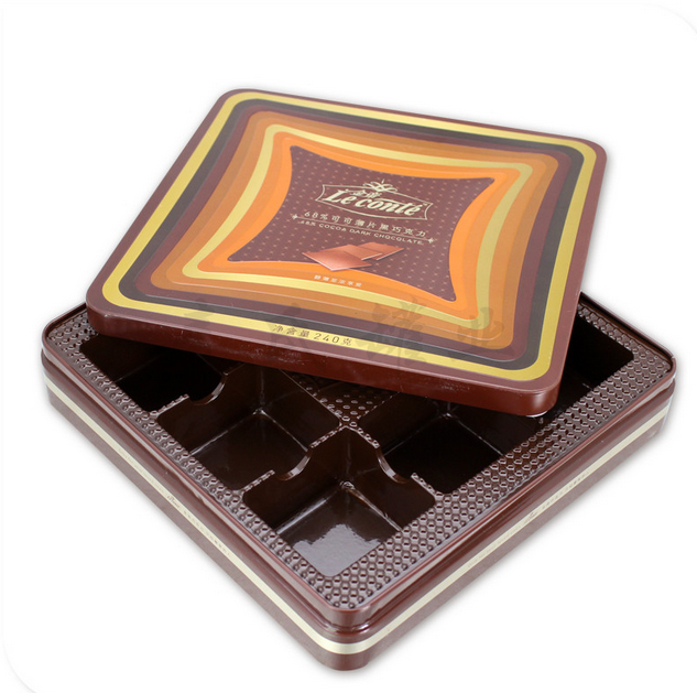 2016 Hot Sell High Quality Tin Box Tin Can For Candy/Chocolate Cookie Packaging