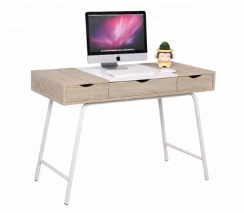 modern office metal desks wooden mdf computer tables