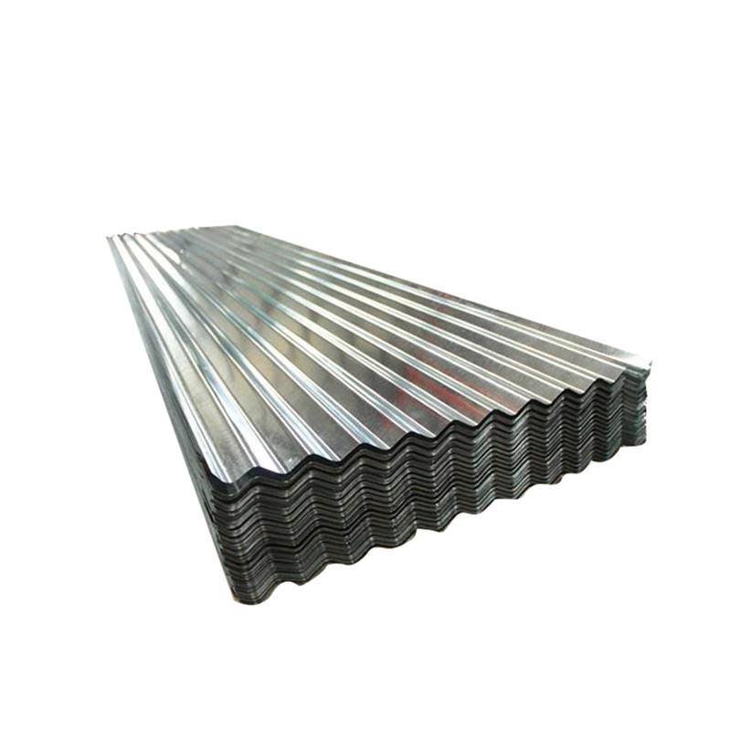 Factory Price Zinc Coated Galvanized Corrugated Steel Sheet