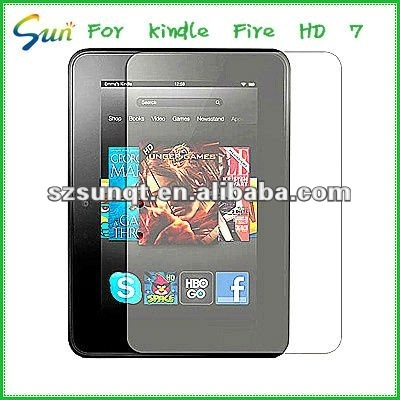 Hot New matte mobile phone screen protector for Kindle fire HD 7