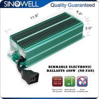 On Sale 5% off 400w Dimmable Electronic Ballast for HPS MH Grow Light