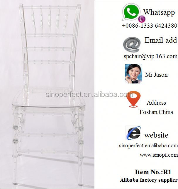 chiavari clear chair for wedding
