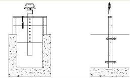 PVC sluice gate for paddy field (Agricultura use)