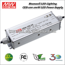 Meanwell Single Output LED Power Supply CEN-100-48 With Active PFC Function IP66 Waterproof LED Driver 100W 48V