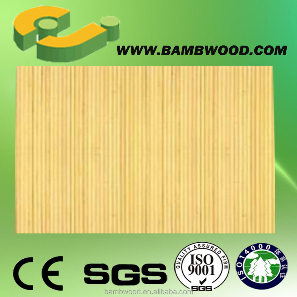 bamboo design PVC wall covering for home decoration