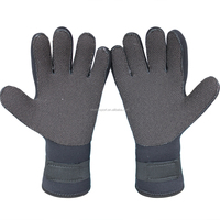 outdoor gloves custome made kevlar palm 5mm neoprene diving gloves