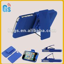 Blue Combo Super Holster With Stand For Iphone4 Case