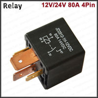 auto relay for peugeot battery relay 12V 80A SPST car relay make in china