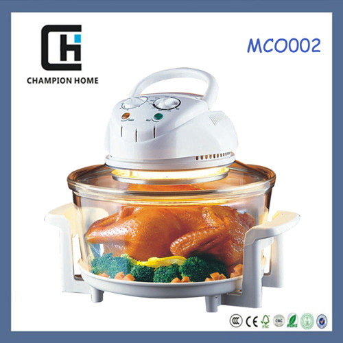 12L Halogen round convection oven