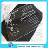 new style handmade nice hard cover wedding invitation clear acrylic plexiglass christmas invitation custom wedding invitations