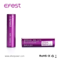 100% original Efest 3000mAh 35A 18650 li ion batteries for gang mod vape