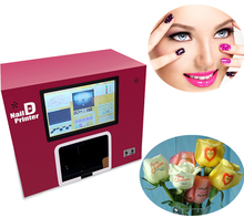 Hot sale multifunctional digital nail art printer for flower