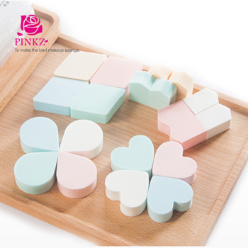 Polyurethane beauty sponge makeup tools / facial sponge for foundation blending cheap price makeup sponge