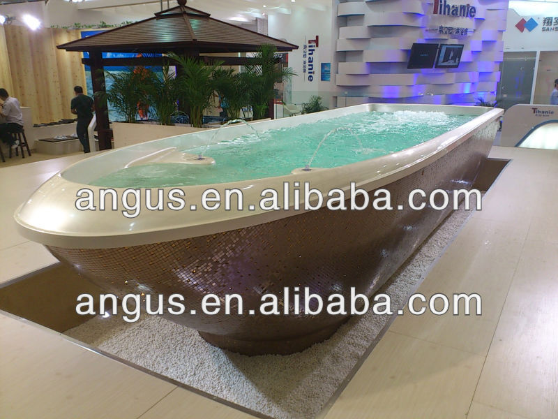 Wholesale Pool Supplies 2013-2014 NEW Fiberglass Swimming Pools with Fountain YH-S07M