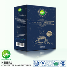 Lifeworth Wholesale 3in1 instant green coffee with 100% natural ingredients philippine green coffee