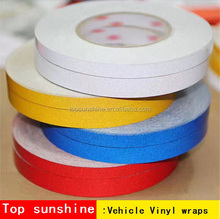 Car Decoration Sticker Wrap Vinyl Strip Sticker Reflective Decal For Van / Truck / Tailer / Bus / Bike / Motorcycle / bape