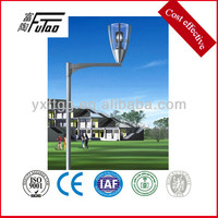 garden light with steel light pole