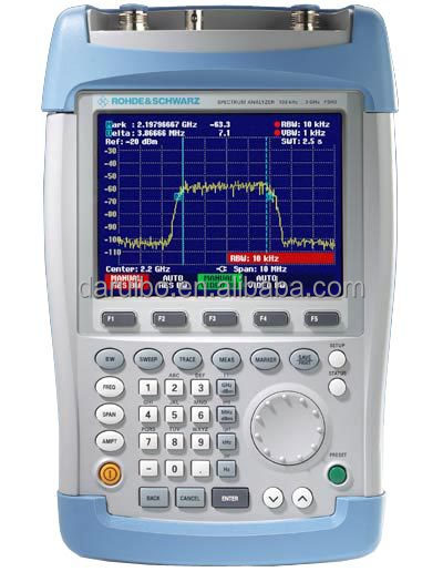 R&S FSH3 Handheld Spectrum Analyzer 100kHz to 3GHz